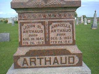 ARTHAUD, JOHN - Taylor County, Iowa | JOHN ARTHAUD