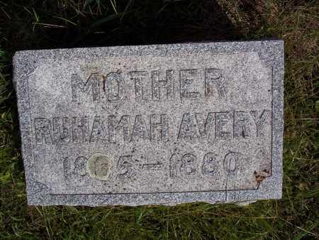 AVERY, RUHAMAH - Taylor County, Iowa | RUHAMAH AVERY