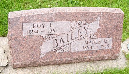 BAILEY, MABLE MARY - Taylor County, Iowa | MABLE MARY BAILEY