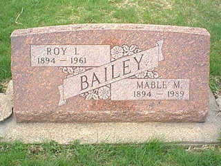 BAILEY, MABLE M. - Taylor County, Iowa | MABLE M. BAILEY