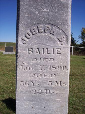 BAILIE, JOSEPH B. - Taylor County, Iowa | JOSEPH B. BAILIE