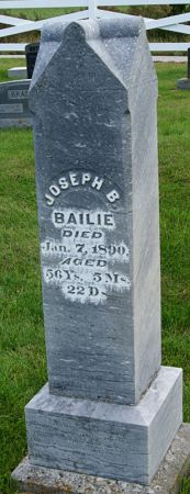 BAILIE, JOSEPH BIGGER - Taylor County, Iowa   JOSEPH BIGGER BAILIE