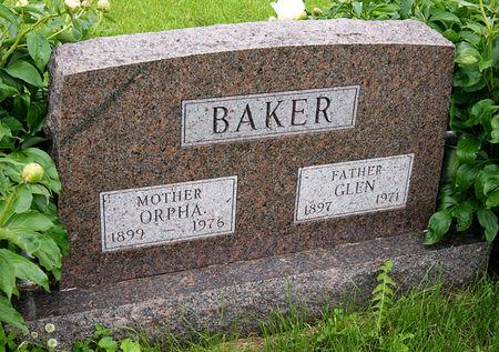 KONECNE BAKER, ORPHA PEARL - Taylor County, Iowa | ORPHA PEARL KONECNE BAKER