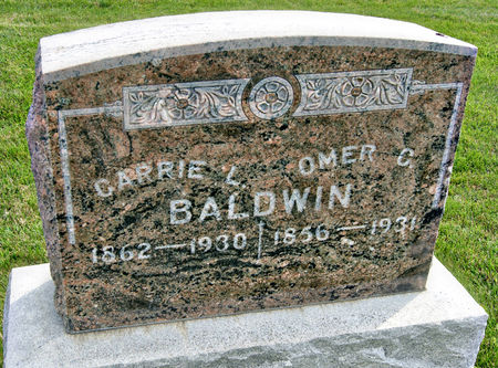 BALDWIN, CARRIE L. - Taylor County, Iowa | CARRIE L. BALDWIN