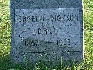 BALL, ISABELLE - Taylor County, Iowa | ISABELLE BALL