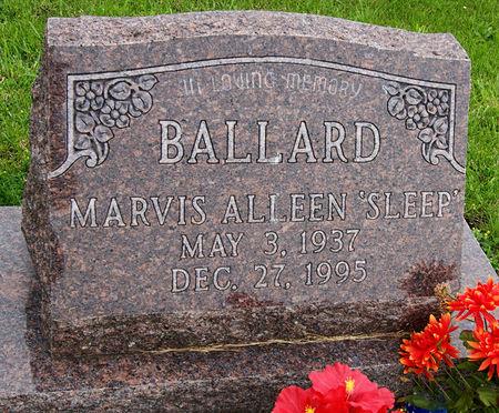 SLEEP BALLARD, MARVIS ALLEEN - Taylor County, Iowa   MARVIS ALLEEN SLEEP BALLARD