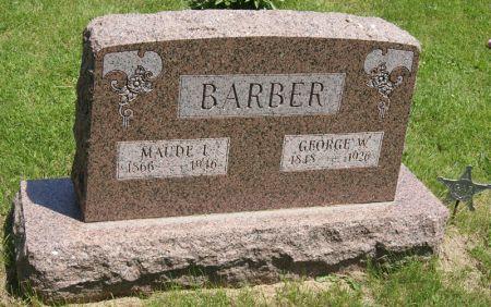 MARTIN BARBER, MAUDE ICELVALIA - Taylor County, Iowa | MAUDE ICELVALIA MARTIN BARBER