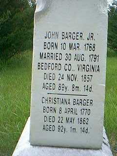 BARGER, JOHN - Taylor County, Iowa | JOHN BARGER