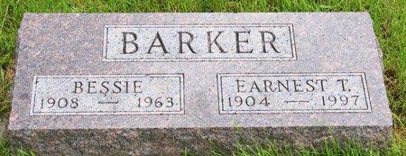 SMITH BARKER, BESSIE - Taylor County, Iowa   BESSIE SMITH BARKER