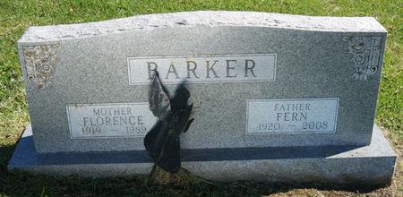 SMITH BARKER, FLORENCE EDNA - Taylor County, Iowa   FLORENCE EDNA SMITH BARKER