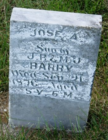 BARRY, JOSE A. - Taylor County, Iowa | JOSE A. BARRY