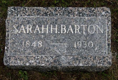 BARTON, SARAH EMMALINE - Taylor County, Iowa   SARAH EMMALINE BARTON