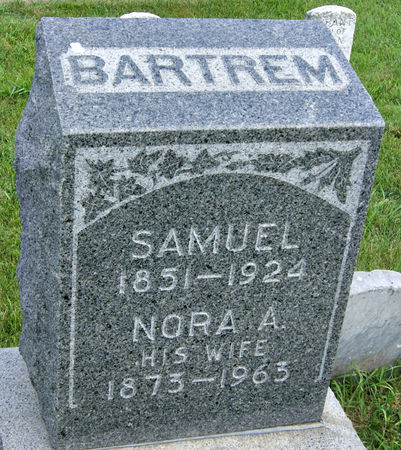 DEAN BARTREM, NORA AGNES - Taylor County, Iowa | NORA AGNES DEAN BARTREM