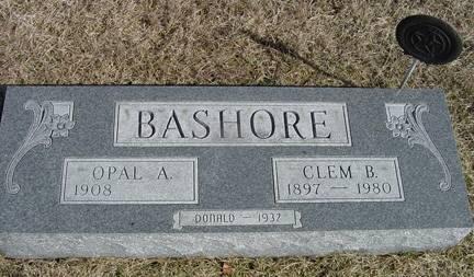 BASHORE, CLEM B. - Taylor County, Iowa | CLEM B. BASHORE