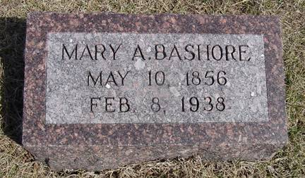 BASHORE, MARY A. - Taylor County, Iowa | MARY A. BASHORE