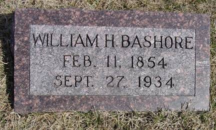 BASHORE, WM. H. - Taylor County, Iowa | WM. H. BASHORE