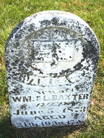 BAXTER, JAMES C. - Taylor County, Iowa   JAMES C. BAXTER