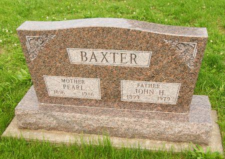 DERRICKSON BAXTER, SR., RUBY PEARL - Taylor County, Iowa | RUBY PEARL DERRICKSON BAXTER, SR.