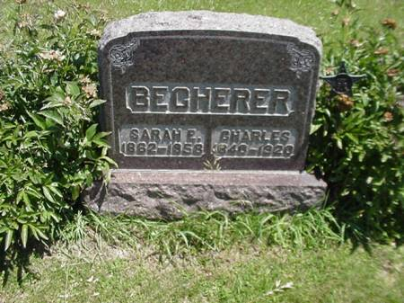 BECHERER, CHARLES - Taylor County, Iowa | CHARLES BECHERER