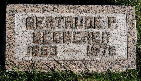 POSTEN BECHERER, GERTRUDE - Taylor County, Iowa | GERTRUDE POSTEN BECHERER