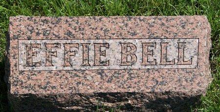 SLUMP BELL, EFFIE LORENA - Taylor County, Iowa   EFFIE LORENA SLUMP BELL