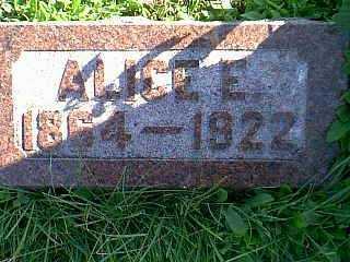 BENNETT, ALICE E. - Taylor County, Iowa   ALICE E. BENNETT