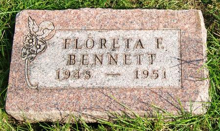 BENNETT, FLORETA FERN - Taylor County, Iowa   FLORETA FERN BENNETT