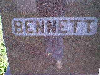 BENNETT, FAMILY - Taylor County, Iowa | FAMILY BENNETT