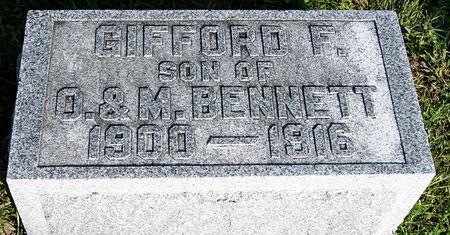 BENNETT, GIFFORD F. - Taylor County, Iowa | GIFFORD F. BENNETT
