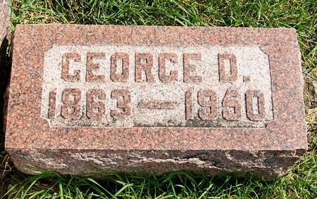 BENNETT, GEORGE DEFOREST - Taylor County, Iowa | GEORGE DEFOREST BENNETT