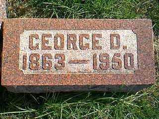BENNETT, GEORGE D. - Taylor County, Iowa | GEORGE D. BENNETT
