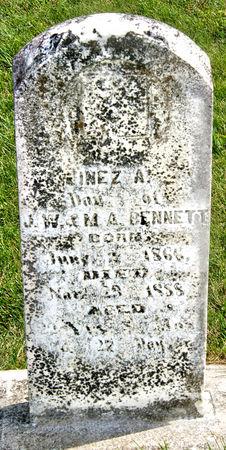 BENNETT, INEZ A. - Taylor County, Iowa | INEZ A. BENNETT