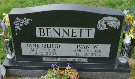BENNETT, IVAN WARNER - Taylor County, Iowa | IVAN WARNER BENNETT