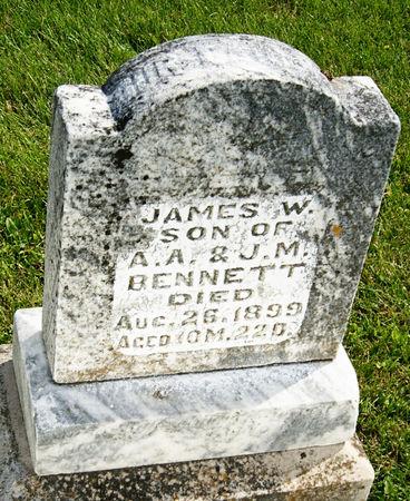 BENNETT, JAMES W. - Taylor County, Iowa | JAMES W. BENNETT