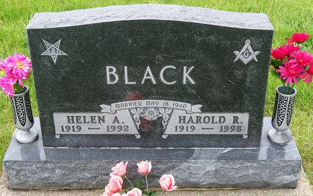 BLACK, HAROLD RICHARD - Taylor County, Iowa | HAROLD RICHARD BLACK