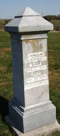 BLACKWELL, JAMES MONROE - Taylor County, Iowa | JAMES MONROE BLACKWELL