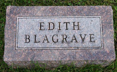 ROUSH BLAGRAVE, EDITH - Taylor County, Iowa | EDITH ROUSH BLAGRAVE