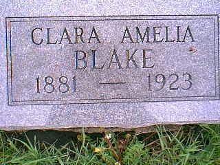 BLAKE, CLARA - Taylor County, Iowa | CLARA BLAKE