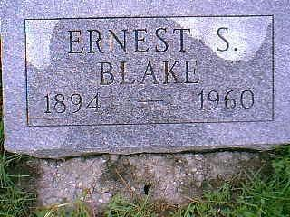 BLAKE, ERNEST - Taylor County, Iowa | ERNEST BLAKE