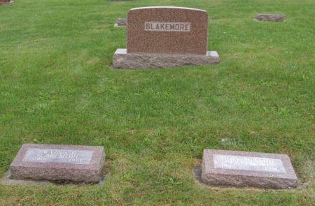 BLAKEMORE, WYATT HAROLD, FAMILY STONE OF - Taylor County, Iowa | WYATT HAROLD, FAMILY STONE OF BLAKEMORE