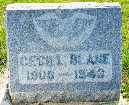 BLANE, CECIL LEON - Taylor County, Iowa | CECIL LEON BLANE