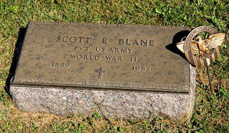 BLANE, SCOTT EDWIN - Taylor County, Iowa   SCOTT EDWIN BLANE