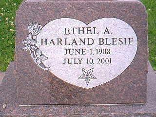 BLESIE, ETHEL A. - Taylor County, Iowa | ETHEL A. BLESIE