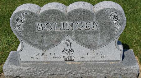 POWELL BOLINGER, LEONA VELDA - Taylor County, Iowa | LEONA VELDA POWELL BOLINGER
