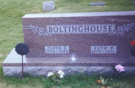 NIXON BOLTINGHOUSE, RUTH - Taylor County, Iowa   RUTH NIXON BOLTINGHOUSE