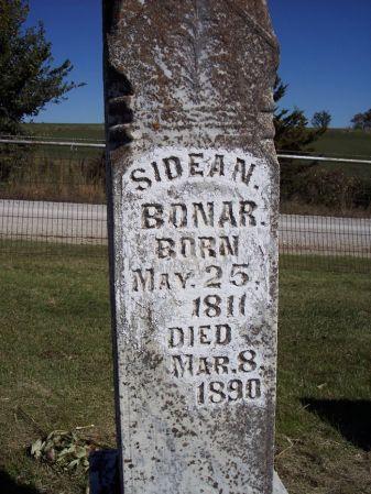 BONAR, SIDEAN - Taylor County, Iowa | SIDEAN BONAR