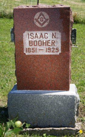 BOOHER, ISAAC NEWTON - Taylor County, Iowa   ISAAC NEWTON BOOHER