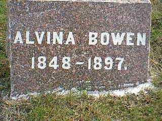 BOWEN, ALVINA - Taylor County, Iowa | ALVINA BOWEN