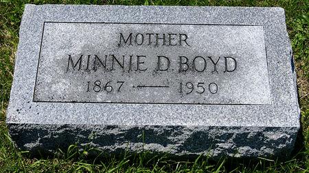 DENSER BOYD, MINNIE - Taylor County, Iowa | MINNIE DENSER BOYD