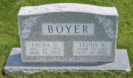 BOYER, TEDDY ROOSEVELT - Taylor County, Iowa   TEDDY ROOSEVELT BOYER